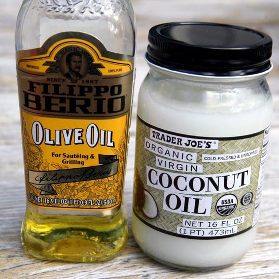 Olivenöl oder Kokosöl verwenden zum Kochen und Backen?