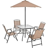 Mainstays Albany Lane 6-Piece Folding Seating Set