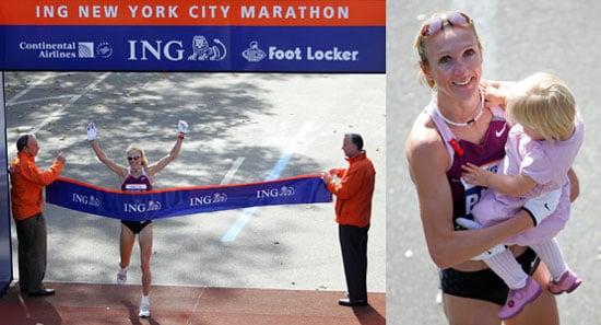 Mommy Marathoner Wins NYC Marathon Again!