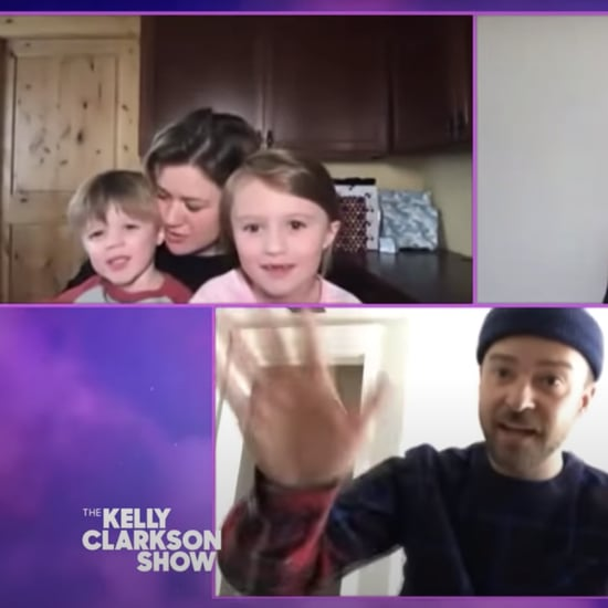 Kelly Clarkson's Kids Crash Interview With Trolls Costars