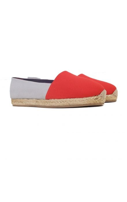 We love the cool colorblock pairing on this pair.  MyMu Drew Espadrille ($185)