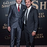 Pictured: Hugh Jackman and Zac Efron