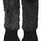 Go luxe with long, rabbit fur-embellished gloves for a punched-up look. 3.1 Phillip Lim Long Fingerless Gloves in Midnight Black ($245)