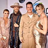 Pictured: Hayley Stommel, Tyler Hubbard, Brian Kelley and Brittney Marie Cole