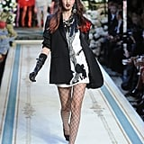 Fab favorite model Lindsey Wixson working a top hat.