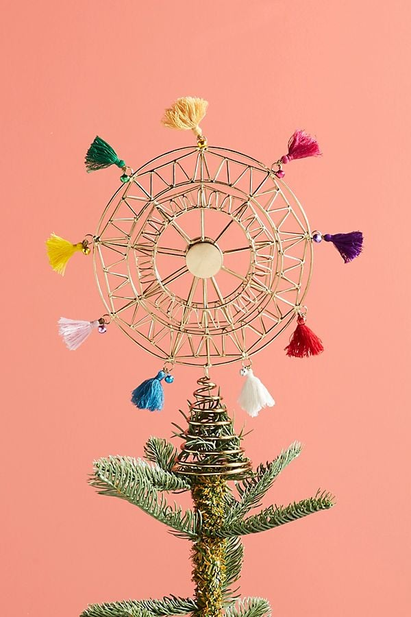 Tasseled Ferris Wheel Tree Topper