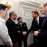 Harry and William Leave Meghan and Kate Behind For a Charitable Evening Together