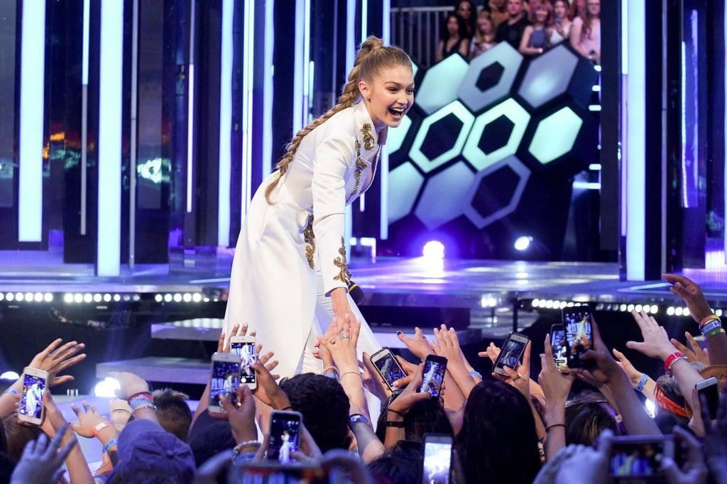 Gigi Hadid Braid at the 2016 MuchMusic Video Awards