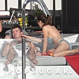 Simon Cowell Lounges Shirtless With His Ex on a Yacht