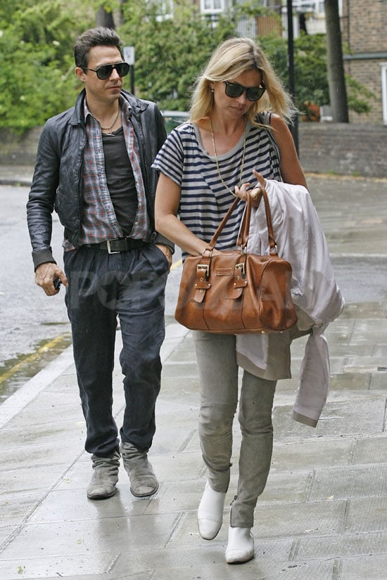 Pictures of Kate Moss And Jamie Hince Together in London