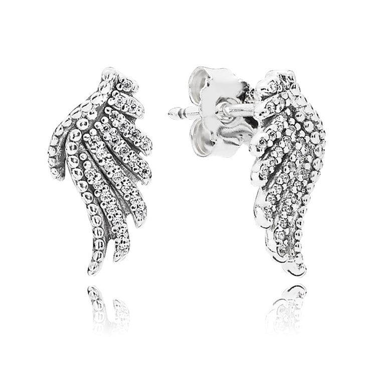 Majestic Feathers Earring Studs, $69
