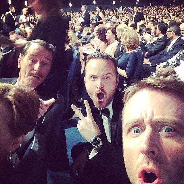 Celebrity Instagram And Twitter Photos From 2014 Emmy Awards