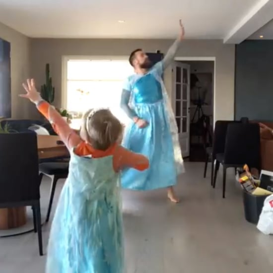 Let It Go Dad and Son Dance Video
