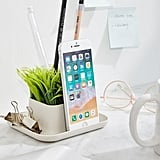 Kikkerland Design Potted Pen Phone Stand
