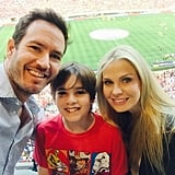He and his wife had a fun day out with Michael in July 2015.
