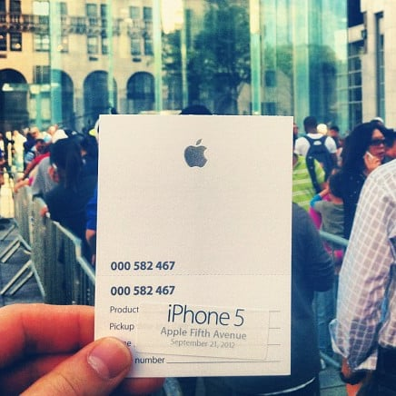 iPhone 5 Launch Pictures