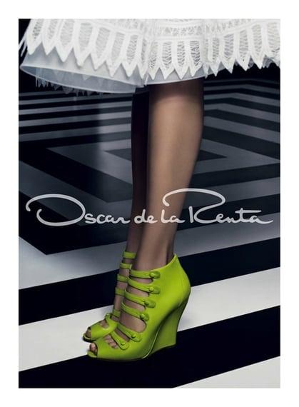 Oscar de la Renta Spring 2012 Ad Campaign