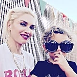 In September, Gwen gave us a rare glimpse of her youngest son, Apollo Rossdale, on Instagram.