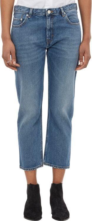 Acne Studios Cropped Pop Jeans-Blue ($270)