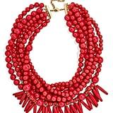 Malibu Beaded Necklace ($48)