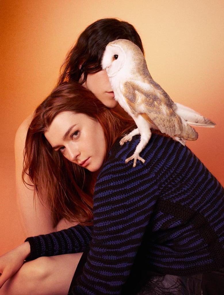 "Edun riffs on the ""birds of prey"" ideology pretty literally for Fall 2012."