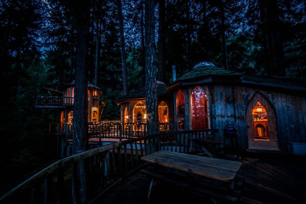 Treehouse Rentals Washington Part - 37: PopSugar