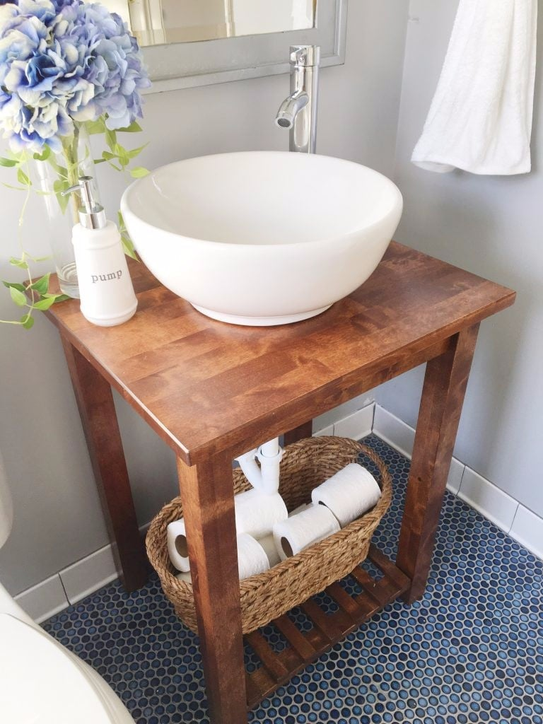 Ikea bathroom hacks popsugar home for A bathroom item that starts with n
