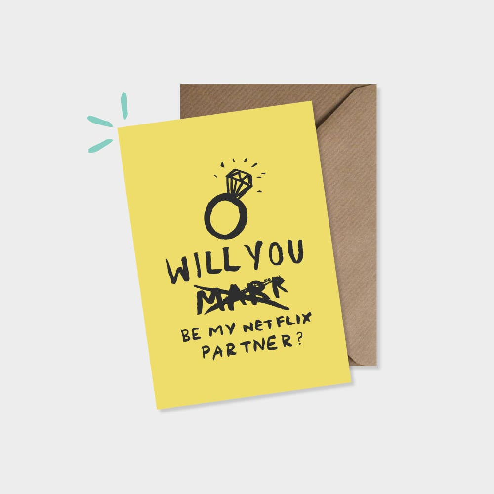A card that lets them know how you really feel.
