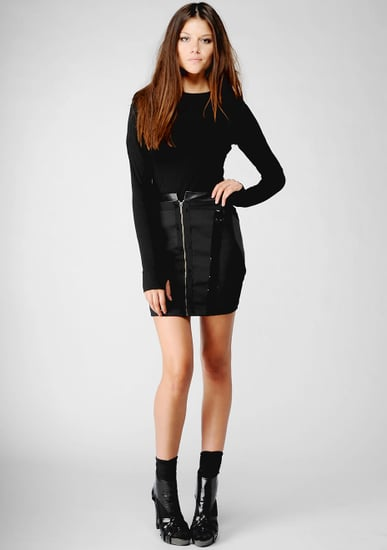 Nicole Miller Jersey Shirt with Thumb Hole ($90)