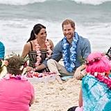Prince Harry Talking Mental Health on Bondi Beach