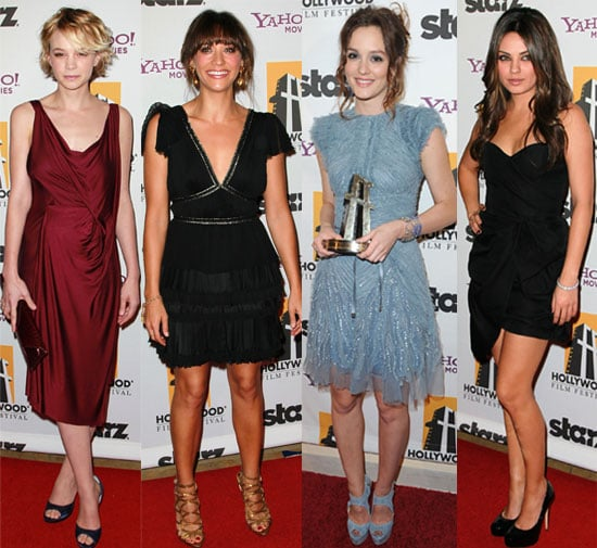 Pictures from the 2010 Hollywood Awards Including Carey Mulligan Leighton Meester, Justin Timberlake, James Franco