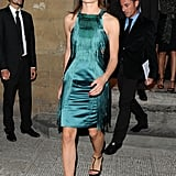 Elle Porte Très Bien la Robe Favorite de Toutes les Fashionistas: la Robe Gatsby