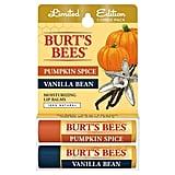 Burt's Bees Pumpkin Spice & Vanilla Lip Balm