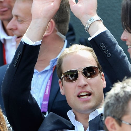 Prince William and Kate Middleton Do the Wave (Video)