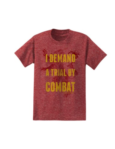 Trial By Combat Tee ($20)