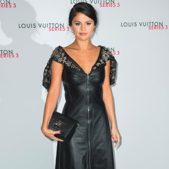 Selena Gomez at Louis Vuitton Spring 2016 Fashion Show