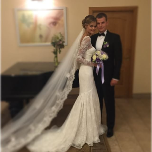 Victoria's Secret Model Kate Grigorieva Wedding Pictures
