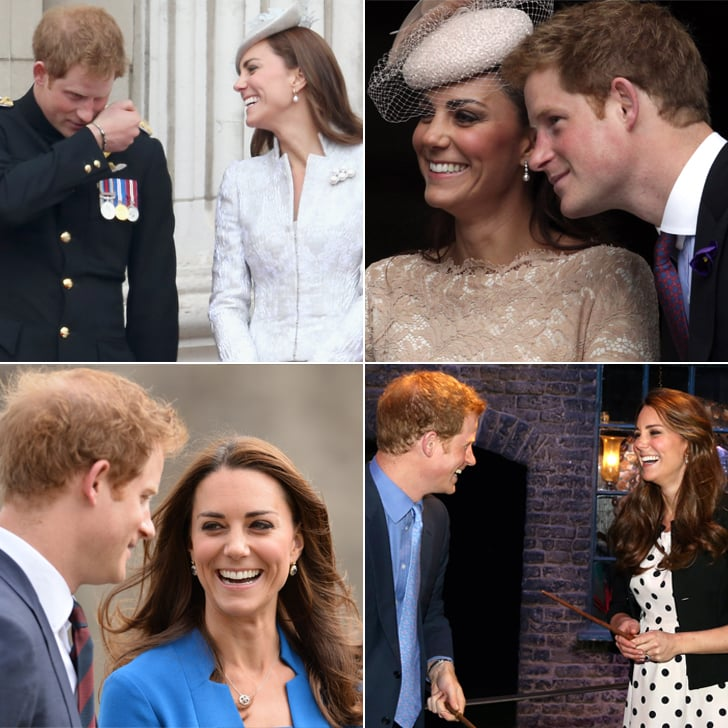 Kate Middleton and Prince Harry's Cutest Pictures Together