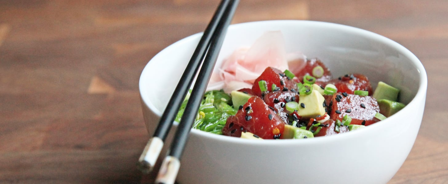 Easy Tuna Poke Bowl With Avocado