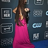 Zendaya's Pink Outfit at the 2020 Critics' Choice Awards