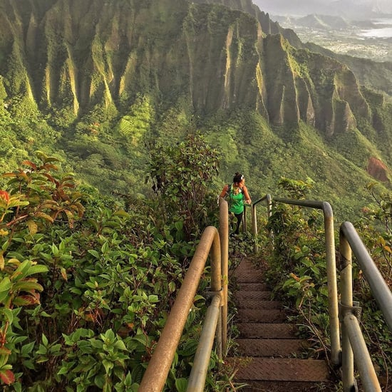 Haiku Stairs in Hawaii