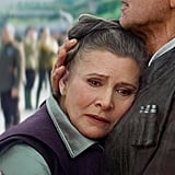 Carrie Fisher's Part Wrapped Before Her Death