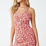 Daisy Print Cami Dress