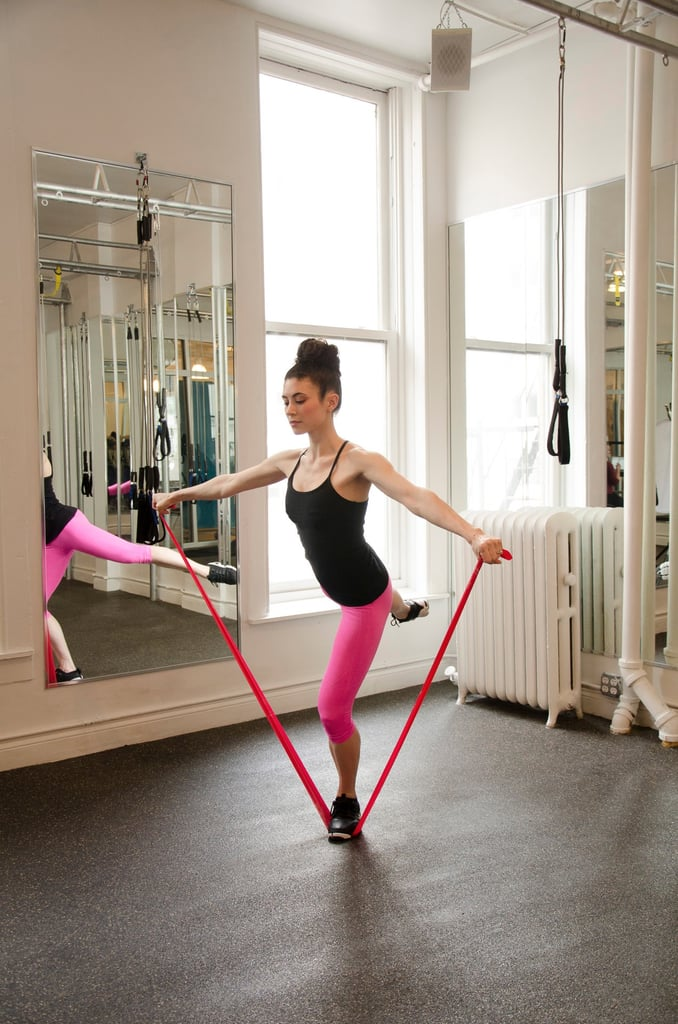 At-Home Workout With Resistance Bands