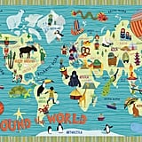 Map Themed Wall Art For Rooms Popsugar