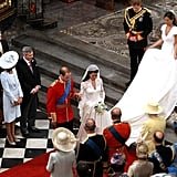 William and Kate's wedding in 2011.