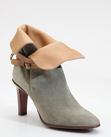 Chloé Cuffed Suede Ankle Boots ($785)