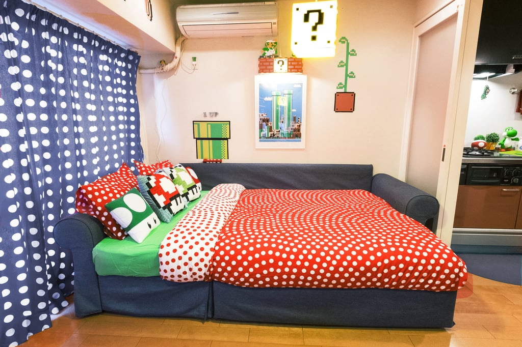 Welcome to the Ultimate Airbnb For Hardcore Mario Fans. Super Mario Bros Airbnb in Tokyo   POPSUGAR Australia Tech