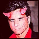 John Stamos shared a photo of his spooky costume. Source: Instagram user johnstamos