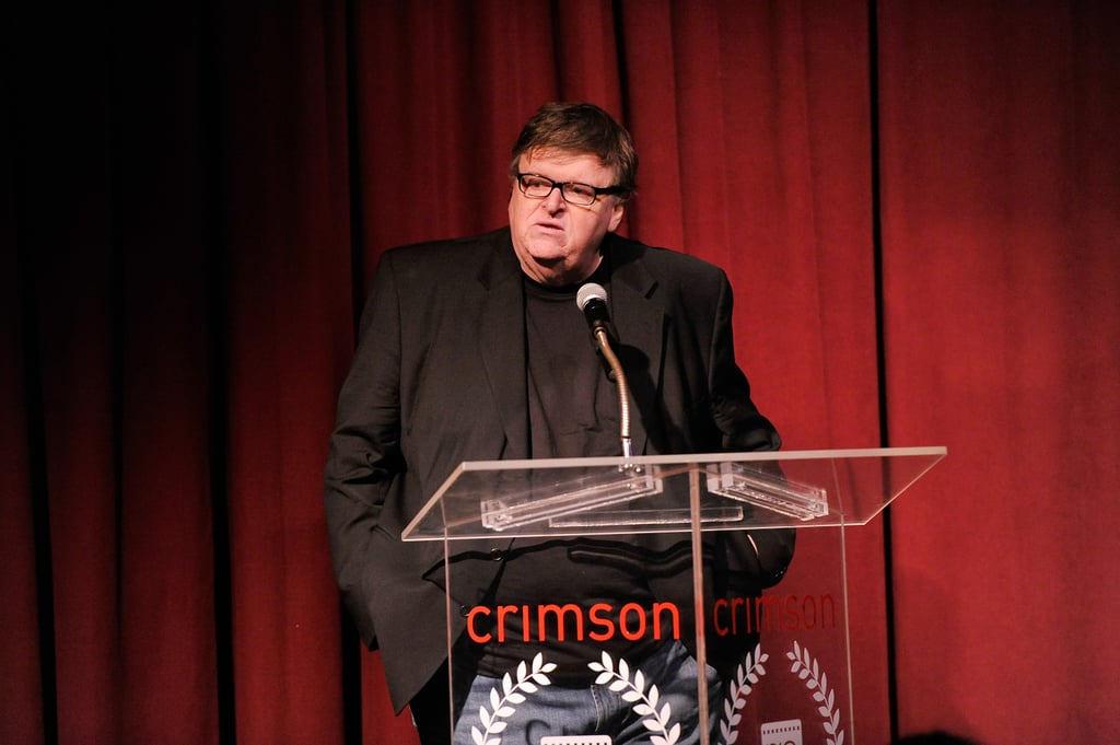 Michael Moore also attended the event.